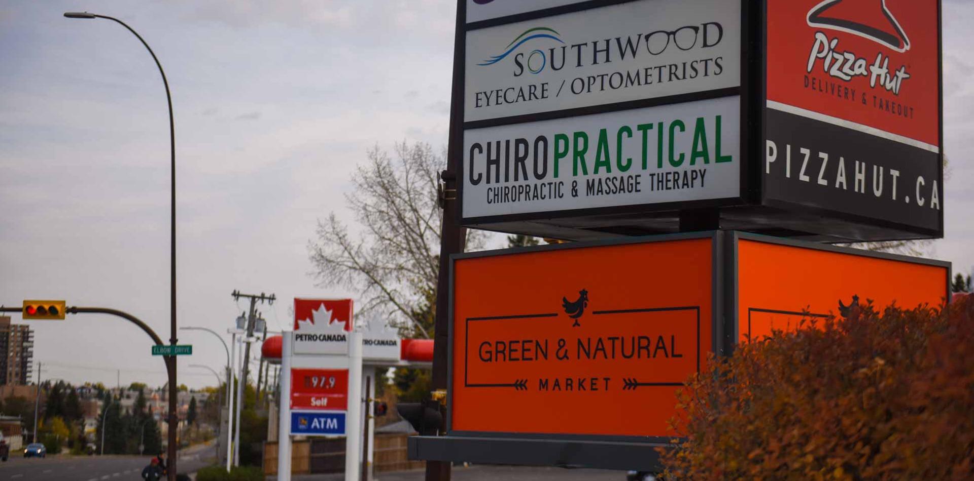 Convenient Location | Chiropractical | SW Calgary | Chiropractor